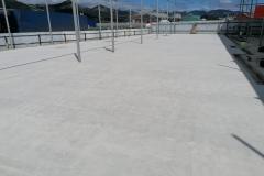 Шлифовка бетона. Мойка самообслуживания 650 м2