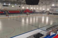 Ледовая арена 3400 м2. Эпоксидное тонкослойное покрытие. Нанесение разметки