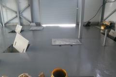 Очистные сооружения 450 м2. Полиуретан-цементное покрытие 4мм