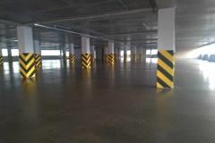 Паркинг 3800 м2. Шлифовка бетонного основания с  нанесением  эпоксидной пропитки