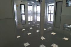 Офис 150 м2. Эпоксидное покрытие 3 мм