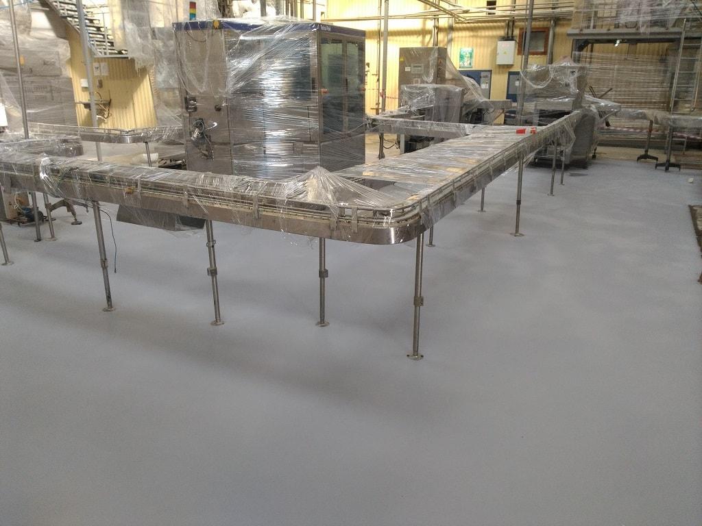 Промышленные полы в производственном цеху