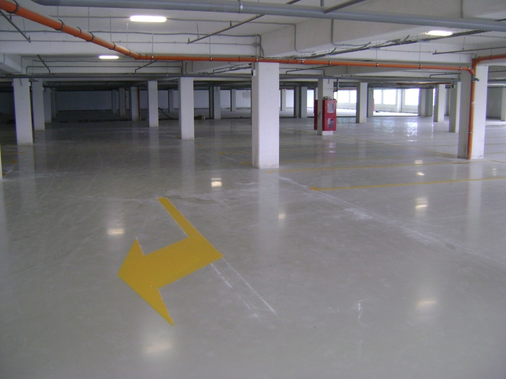 """Промышленные полы """"паркинг"""""""